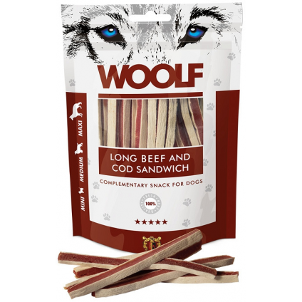 WOOLF LONG BEEF AND COD...