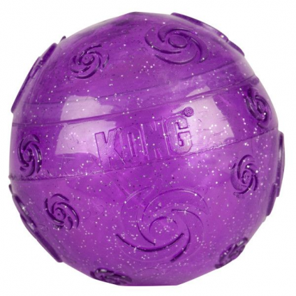 KONG Squeezz Crackle Ball L