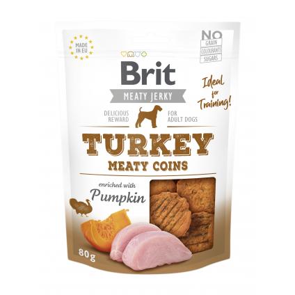 BRIT JERKY TURKEY MEATY...