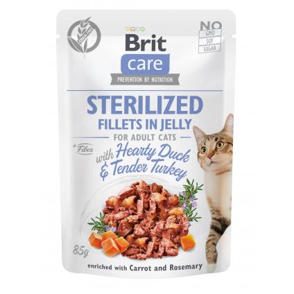 BRIT CARE CAT STERILIZED...