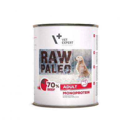RAW PALEO ADULT DOG BEEF 800 g