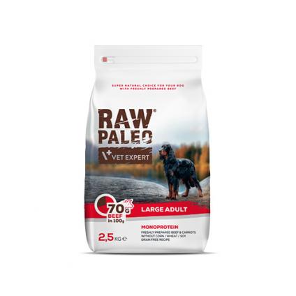 RAW PALEO Adult Large BEEF...