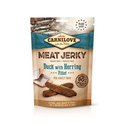 CARNILOVE JERKY DUCK WITH...