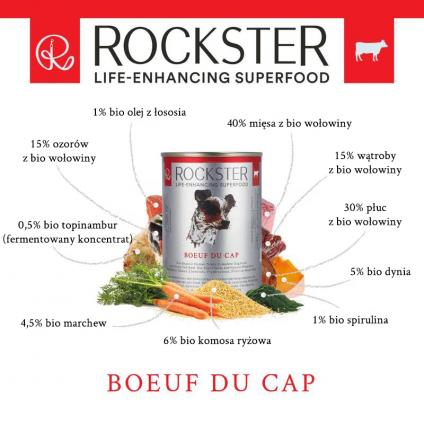 Rockster Boeuf du cap - BIO...