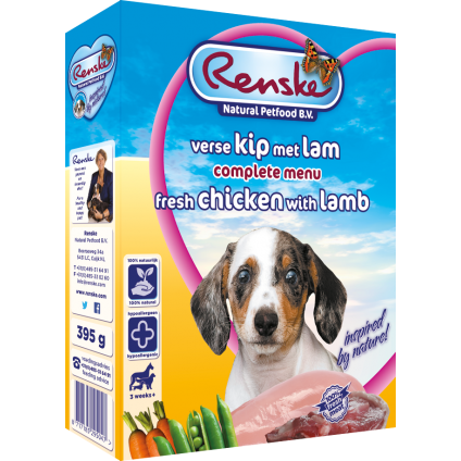 Renske Puppy fresh meat...