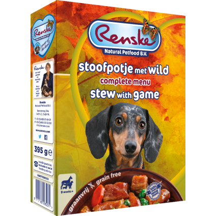 Renske Dog Adult fresh game...