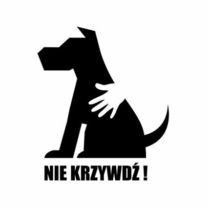 "Naklejka ""Pies-Nie..."