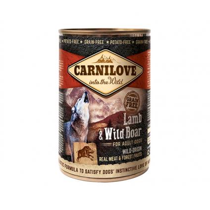 CARNILOVE LAMB & WILD BOAR...