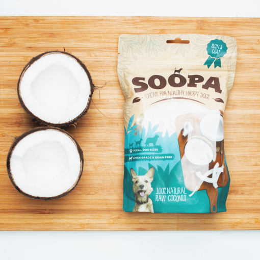 SOOPA Chews Coconut – Kokos...